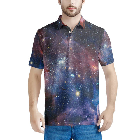 Light Year - Men's All Over Print Polo Shirt