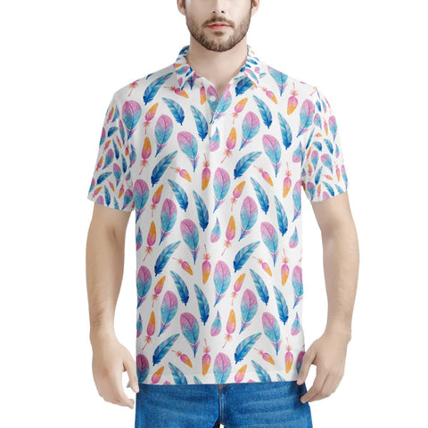 Fly Away - Men's All Over Print Polo Shirt