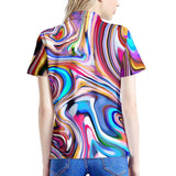 Lucid Dream - Women's All Over Print Polo Shirt