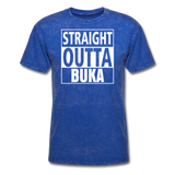 MFD Straight Outta Buka Tee - mineral royal