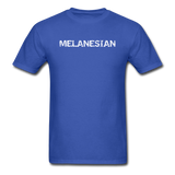 MFD Melanesian Tee - royal blue