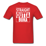 MFD Straight Outta Buka Tee - red
