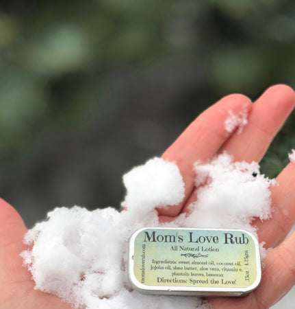 Mom's Love Rub .15oz All Natural Lotion