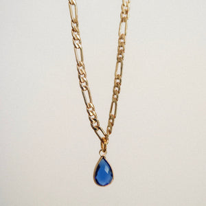 Birthstone Gold Dainty Necklace