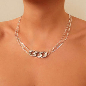 Paris Silver Dainty Necklace