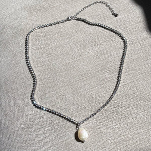 Hope Tennis Necklace
