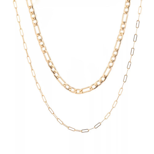 Raya Gold Layered Necklace