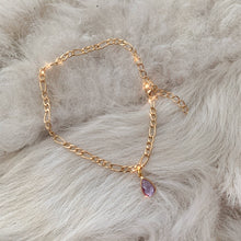 Load image into Gallery viewer, Lyla Gold Figaro Anklet