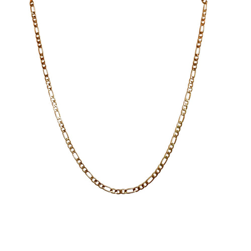 Gold Dainty Figaro Necklace
