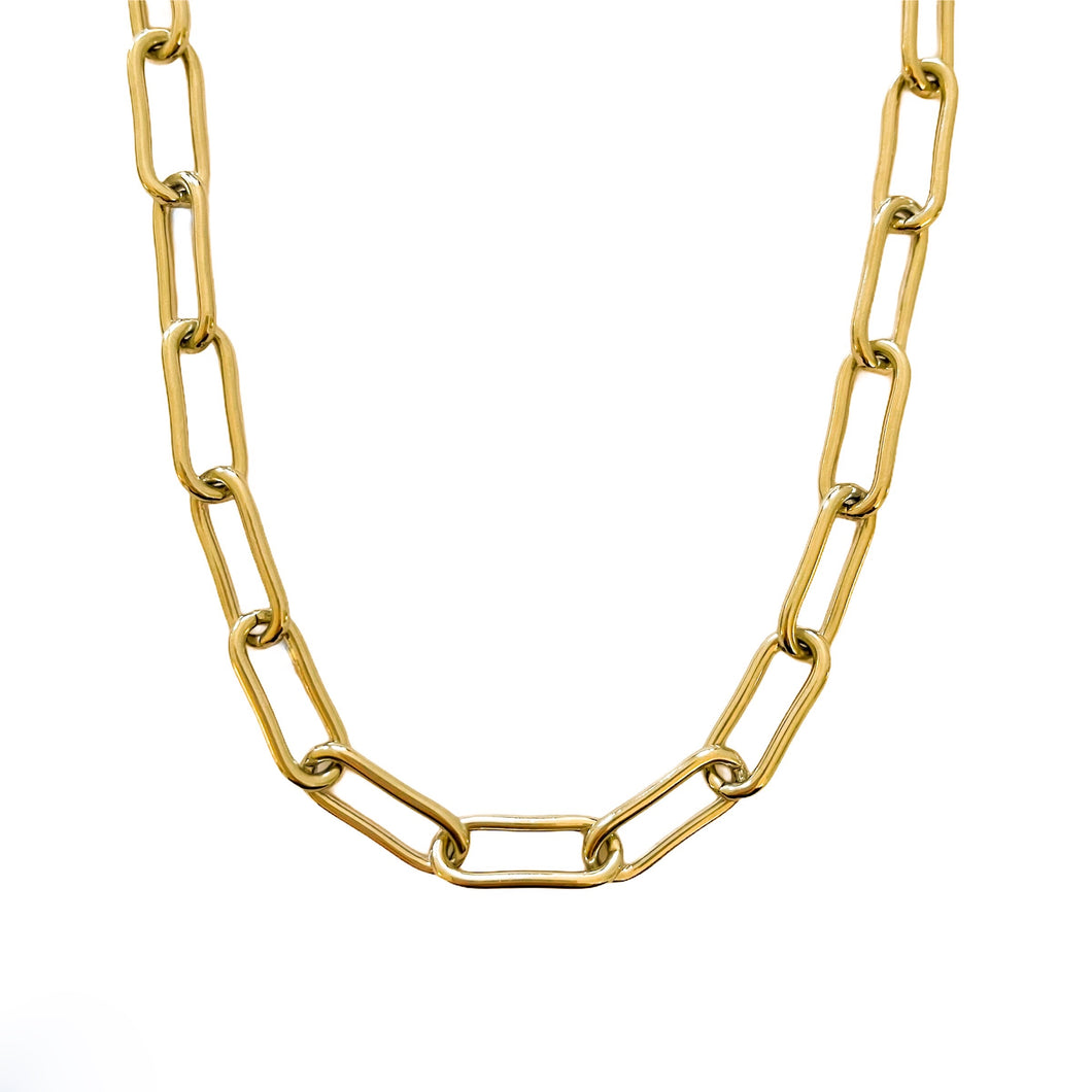 Daydream Gold Link Necklace