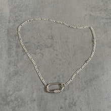 Load image into Gallery viewer, Mila Silver Clasp Dainty Necklace