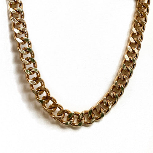 Aliya Gold Chunky Necklace