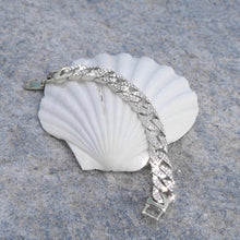 Load image into Gallery viewer, Moonlight Iced Silver Bracelet