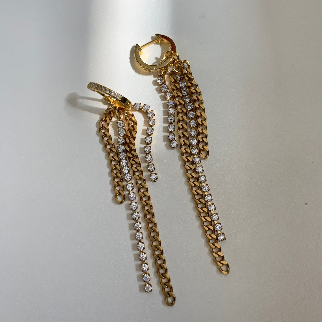 Aura Gold Earrings