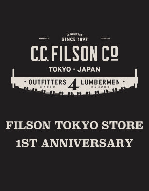 【FILSON TOKYO STORE】1st ANNIVERSARY SPECIAL WEEKS