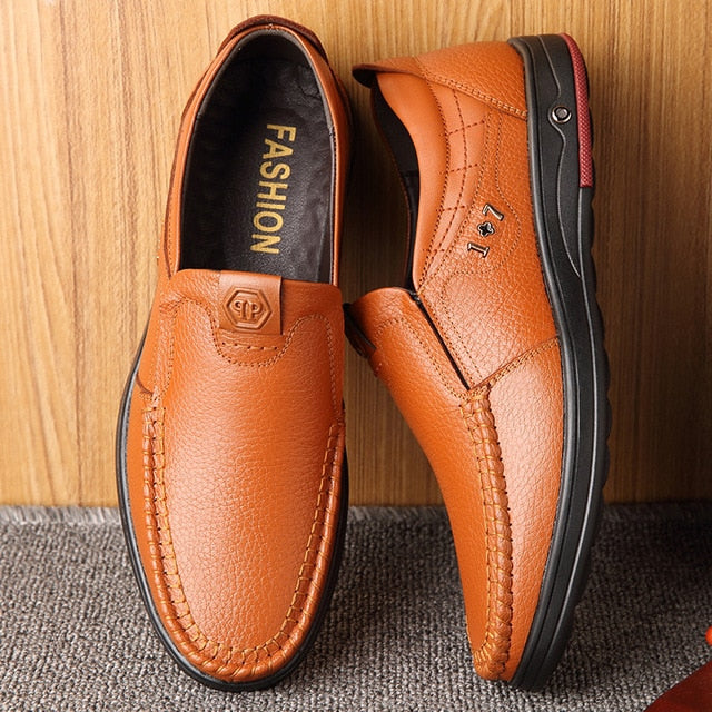 Casual leather Men's Shoes