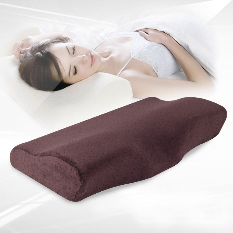 New Slow Rebound Memory Foam Pillow