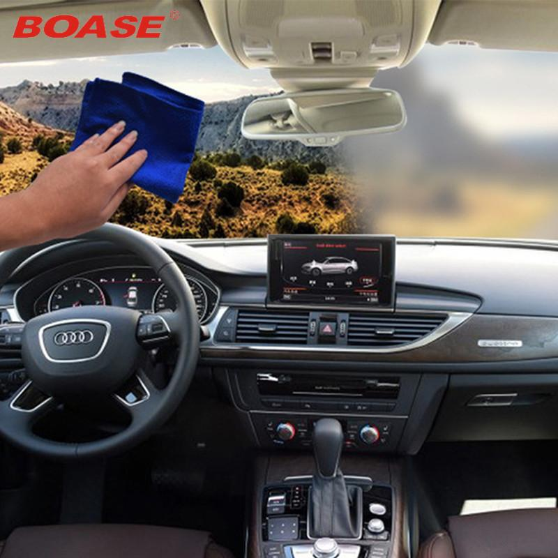 Automobile anti-fog towel car clean towel glass antifogging towel demisting towel 24 hours non-fogging