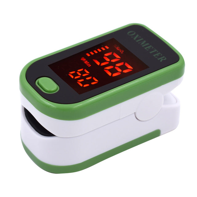 Finger Pulse Oximeter With Case