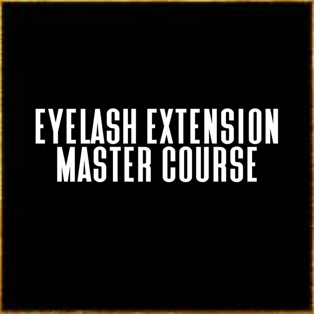 Master Eyelash Course Full Deposit