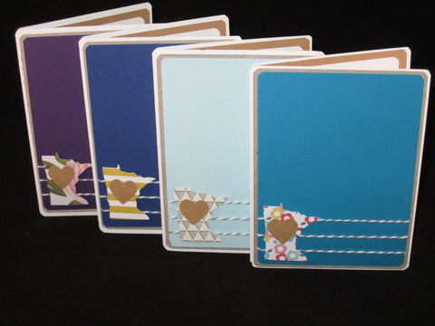 MN Love  - Set of 4 Cards