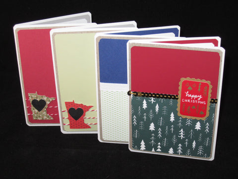 Holiday Variety - Set of 4 Cards