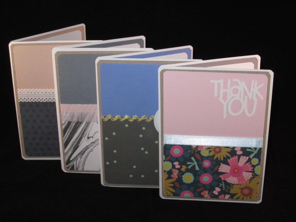 Thankful Messages | 4 Greeting Cards