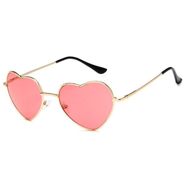 Fashionable Love Heart Sunglasses