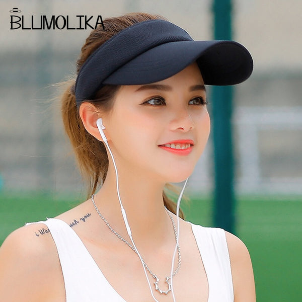 Hot Selling New Tennis Caps with Sun Visors