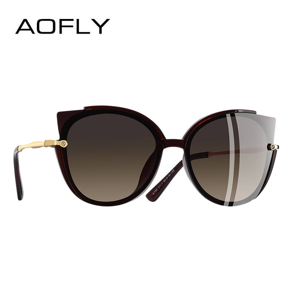 BRAND DESIGN Fashionable Lady's Polarized Sunglasses