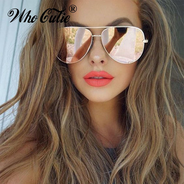 CUTIE Oversized AVIATION Sunglasses for women