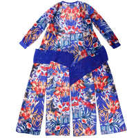 Stunning Womens flowery Sexy summer Beach dress with Waist belt