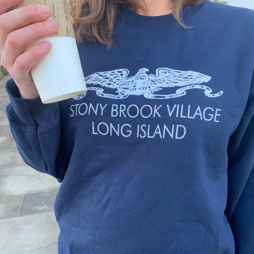 Stony Brook Village Sweatshirt - Large Logo