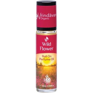VRINDAVAN Perfume Oil  Wildflower 10ml SALE PRICE