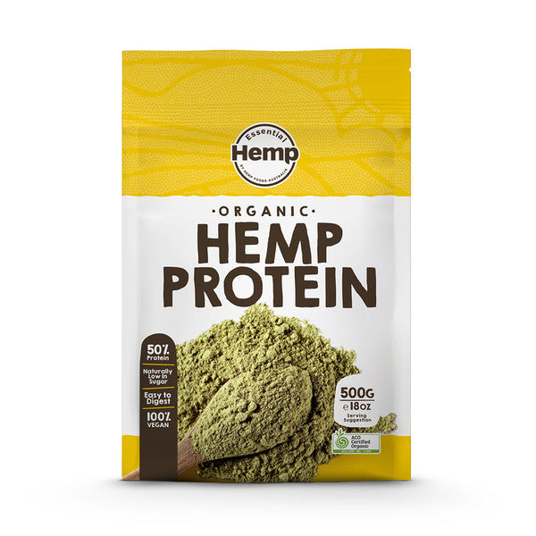 Essential Hemp Organic Hemp Protein Powder 500g