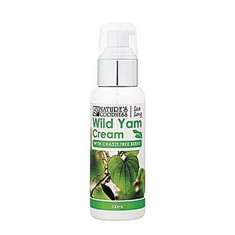 Nature's Goodness Wild Yam Cream (with Chaste Tree Berry) 100ml
