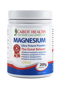 Cabot Magnesium Ultra Potent Powder