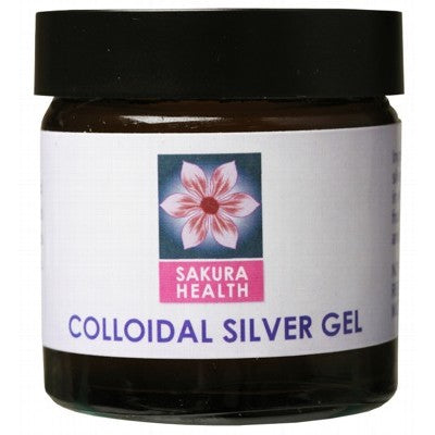 SAKURA HEALTH Colloidal Silver Gel - 60ml
