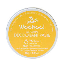 Happy Skincare Woohoo Deodorant Paste Mellow (sensitive) 40g bicarb free