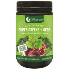Super Greens + Reds  with matcha and  kale 150g Powder