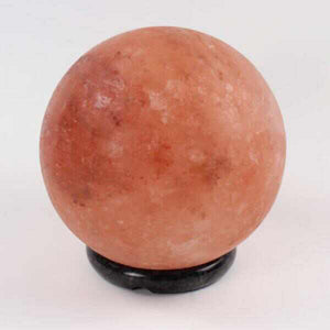 Salt Lamp moon 5in