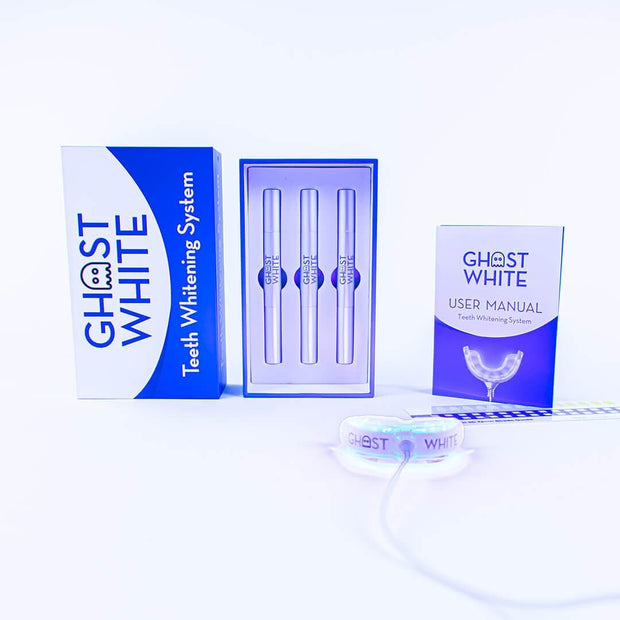 Ghost White Teeth Whitening Kit - Ghost White - The Ultimate Teeth Whitening System