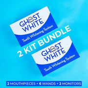 Ghost White Teeth Whitening 2 Kit Bundle - Ghost White - The Ultimate Teeth Whitening System