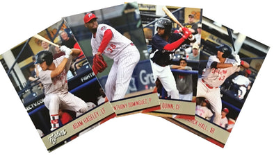 Reading Fightin Phils 2018 Updated Team Card Set