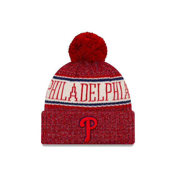 New Era Red and Blue Philadelphia Phillies Knit Beanie