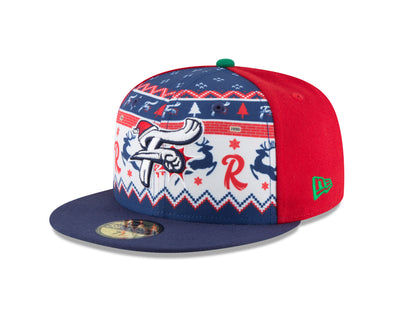 Reading Fightin Phils Fightins Ugly Sweater - New Era 5950 Fitted Cap