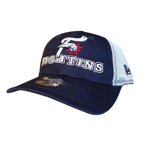 Reading Fightin Phils New Era Youth Navy Fightins Cap