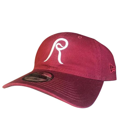 Reading Fightin Phils New Era 1980 Adjustable Maroon Retro R Cap