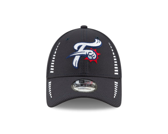 Reading Fightin Phils New Era Navy Speed 9FORTY Adjustable Fightins Cap