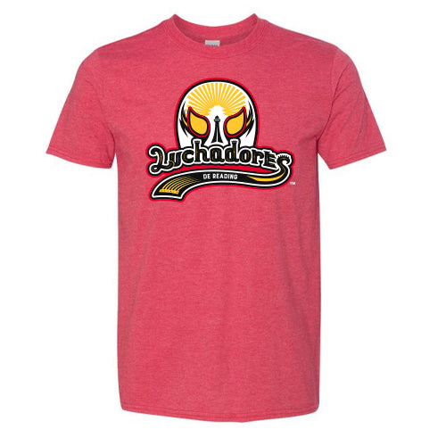 Luchadores de Reading Heathered Adult T-Shirt